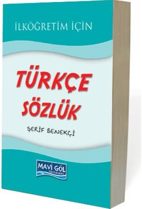 Mavigöl Yayınları Mavi Göl İlköğretim Türkçe Sözlük (3. Hamur)