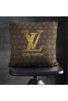 Craft-Art Louis Vuitton Gold Yastık