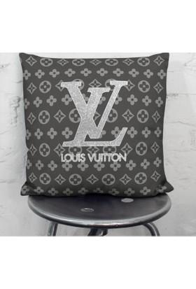 Craft-Art Louis Vuitton Silver Yastık