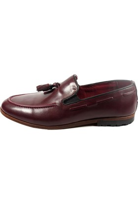 Commodore Sailor 267-310 Bordo Erkek Ayakkabı
