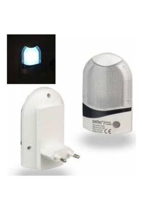 LED Sensörlü 4 Ledli Gece Lambası
