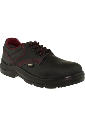 Gezer Siyah Çelik Burunlu İş Güvenlik Ayakkabısı