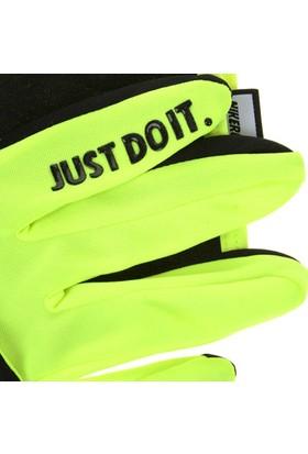 Nike Men'S Rally Run Gloves Fa15 L Black/Volt N.Rg.D1.023