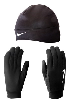 Nike Erkek Running Thermal Bere Eldiven Seti N.Rc.24.001.Sl