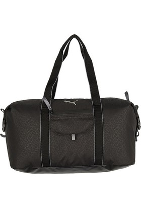Puma Fit At Sports Duffle Black-Quiet Sh Çanta 07441901
