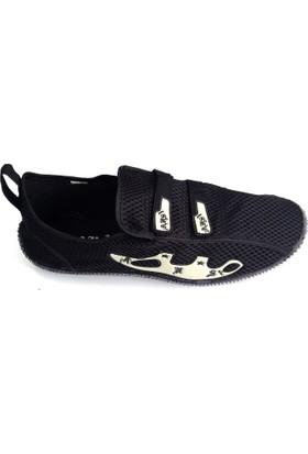 Ahs Cırtlı Siyah Deniz Ayakkabısı