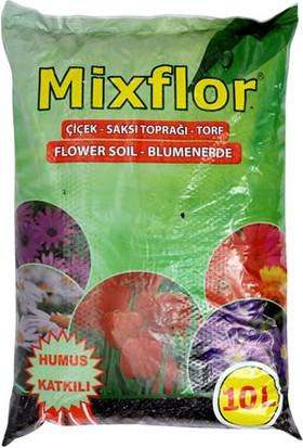Mixfloor 10 L Çiçek Saksı Toprağı Torf Humus Katkılı