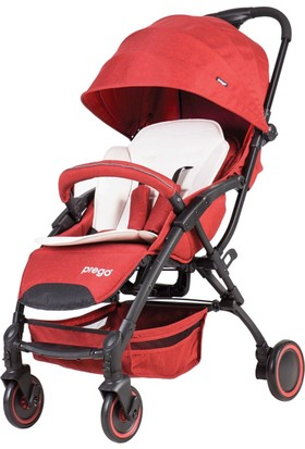 Prego 2085 Smart Fold Bebek Arabası - Kırmızı