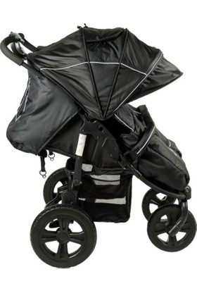 Sunny Baby Sunny Baby 814 Sweety İkiz Bebek Arabası - Siyah