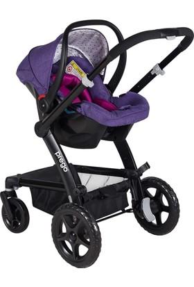 Prego 2075 Viola Travel Sistem Bebek Arabası - Lila