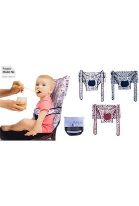 Sevi Bebe Kumaş Mama Sandalyesi (Asorti)