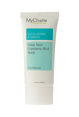 MyChelle Clear Skin Cranberry Mud Mask Yabanmersinli Çamur Maskesi
