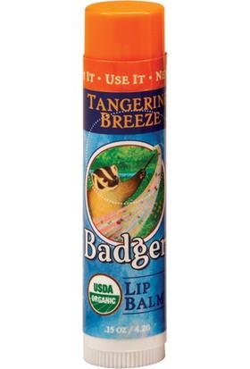 Badger Lip Balm Tangerine Breeze Mandalinalı Dudak Balmı