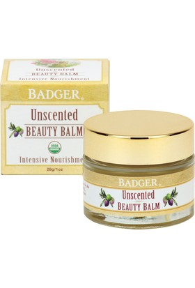 Badger Unscented Beauty Balm Sade Güzellik Balmı