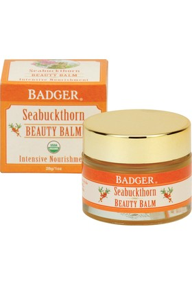 Badger Seabuckthorn Beauty Balm Badger Seabuckhorn Güzellki Balmı 28Gr
