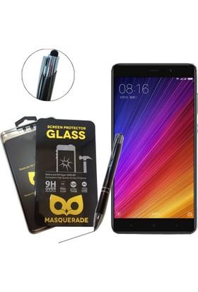 Case Man Masquerade Xiaomi Mi 5s Plus 9H Temperli Ekran Koruyucu