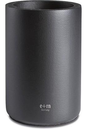 E+M Siyah Ahşap Kalemlik Fsc120-20