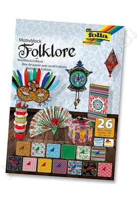 Folia Motiveblock Dekoratif Karton 24X34 Cm Folklore 47049
