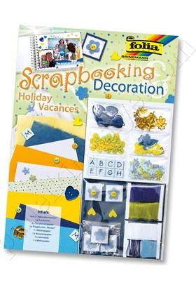 Folia Scrapbooking Deco-Set Tatil 12103