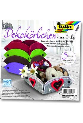Folia Felt Keçe Sepet Set Fo-51299