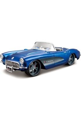 Maisto Model Araba 1:24 1957 Chevrolet Corvette 31323