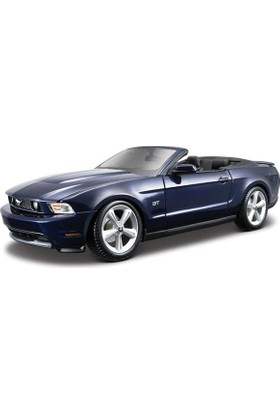 Maisto Model Araba 1:18 2010 Ford Mustang Gt Convertible 31158