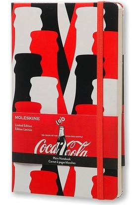Moleskine Limited Edition Coca Cola Büyük Boy Sert Kapak Düz Defter