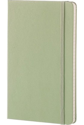 Moleskine Çizgili Defter Sert Kapak Large Boy Söğüt Yeşili