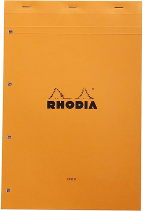 Rhodia Çizgili Bloknot Turuncu Ra 119600