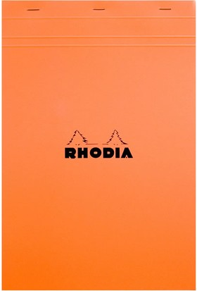 Rhodia Kareli Bloknot Turuncu Ra 18200