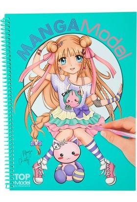 Top Model Manga Boyama Kitabı 8516