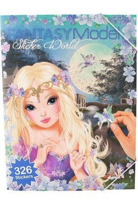Top Model Fantasy Sticker Defteri 8062