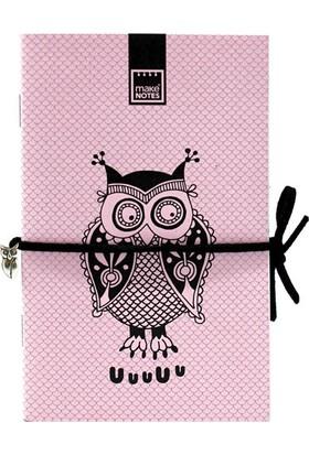 Makenotes Owl 3'lü Not Defteri Mn-Cj16