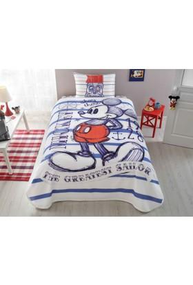Taç Tek Kişilik Disney Mickey Mouse Sailor Pike Takımı