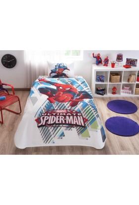 Taç Tek Kişilik Spiderman Skyscaper Pike Takımı
