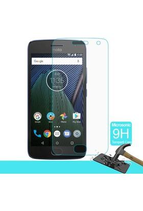 Microsonic Motorola Moto G5 Plus Temperli Cam Ekran koruyucu film