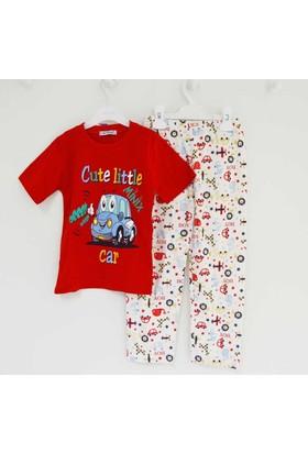 Mini Okyanus 2109 Baskılı Pijama Takımı