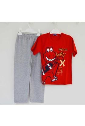 Mini Okyanus 2133 Baskılı Pijama Takımı