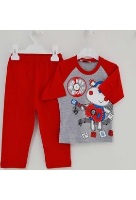 Mini Okyanus 2136 Baskılı Pijama Takımı