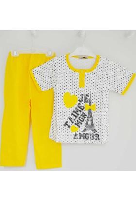 Mini Okyanus 4008 Baskılı Pijama Takımı