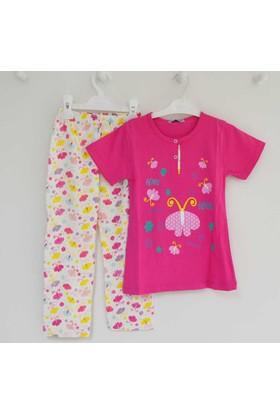 Mini Okyanus 4074 Baskılı Pijama Takımı