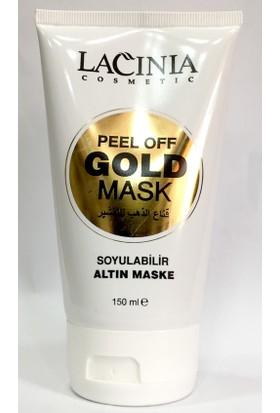 Lacınıa Soyulabilir Altın Maske Gold Mask 150 ml Aktarzane
