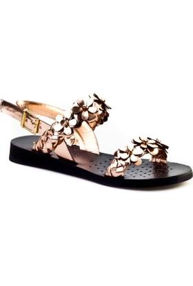 Cabani Çiçekli Günlük Kadın Sandalet