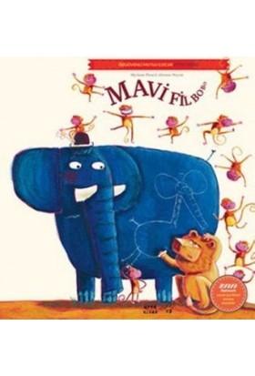 Mavi Fil Bobo-Özgüvenli Mutlu Çocuk Kitap Serisi - Myriam Picard