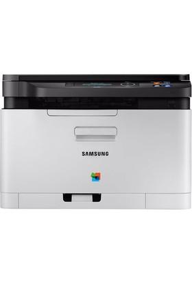 Samsung SL C480 Wi-Fi Renkli Çok Fonksiyonlu Fotokopi + Tarayıcı Airprint Laser Yazıcı