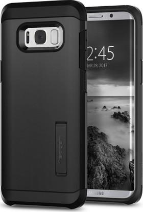 Spigen Samsung Galaxy S8 Kılıf Tough Armor Black - 565CS21643