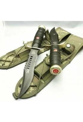 Halmak Siyah Deliksiz Komando Ve Av Bıçağı