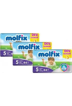 Molfix Bebek Bezi Comfort Fix Dev Ekonomi 5+ Beden 132 Adet