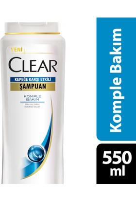 Clear Şampuan Komple Bakım 550 ml