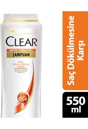 Clear Şampuan Saç Dökülmesine Karşı 550 ml
